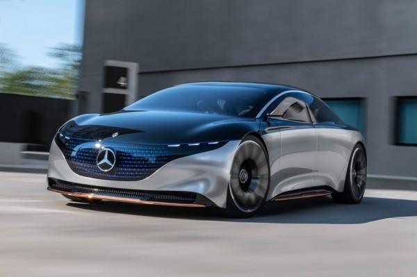 Mercedes-Benz Vision EQS: запас хода 700 км и «роскошь» из переработанного пластика
