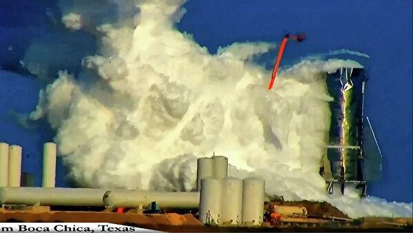 Прототип ракеты Starship Илона Маска взорвался в ходе испытаний