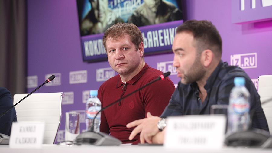 Пресс-конференция Кокляева и Емельяненко перед боем. Видеотрансляция
