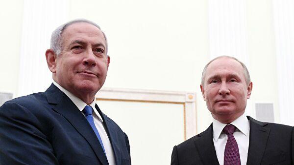 Путин и Нетаньяху обсудили по телефону вопросы взаимодействия в Сирии
