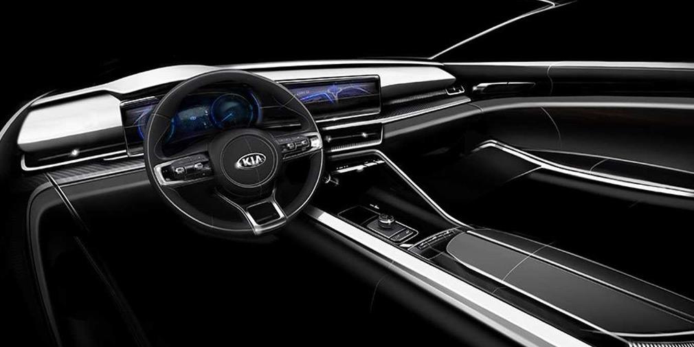 Следующий Kia Sorento получит интерьер в стиле новой Optima