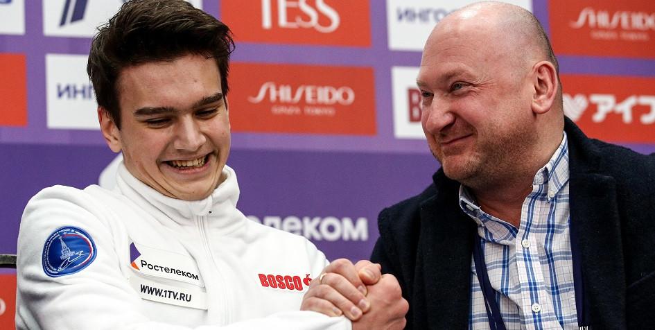 19-летний фигурист выиграл короткую программу на чемпионате России
