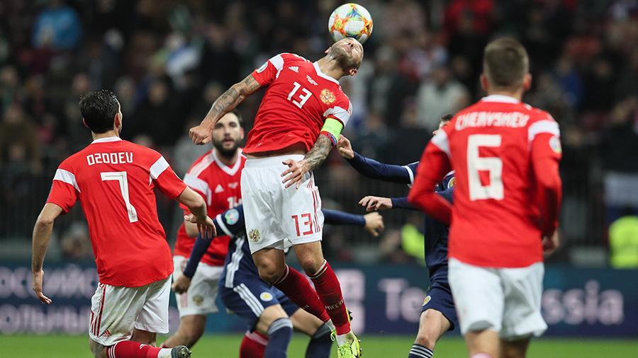 Сборная России сохранила 38-е место в мировом рейтинге ФИФА