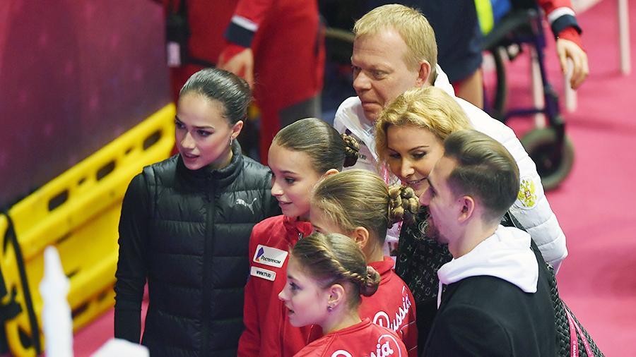 Плющенко обвинил команду Тутберидзе в работе только с готовыми спортсменами