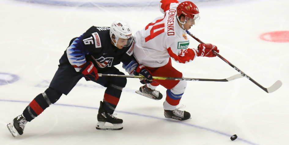 Сборная России проиграла американцам на молодежном ЧМ по хоккею