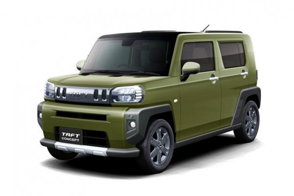 Daihatsu возродила имя Taft для кроссовера, который бросит вызов «неприличному» Suzuki