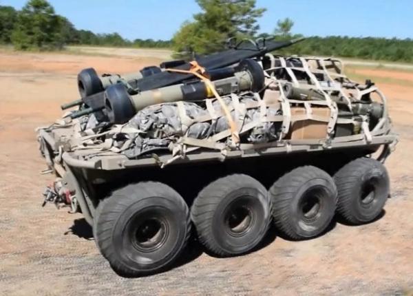 Американские военные вооружатся роботами-носильщиками в 2020 году