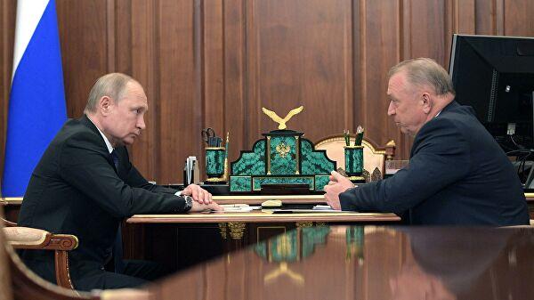 """Глава ТПП Катырин рассказал, за что его """"поругал"""" Путин"""