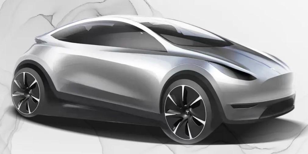 Tesla показала дизайн нового электрокара