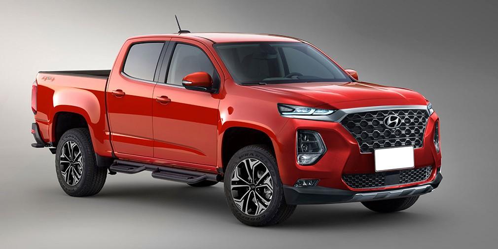 Первый пикап Hyundai может получить мотор от Genesis