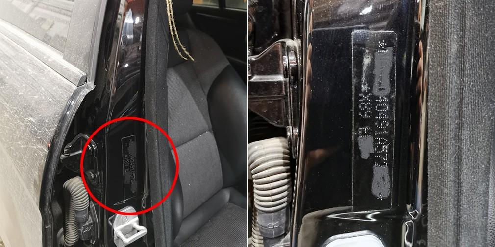 В России на автомобили начали наносить полицейскую маркировку