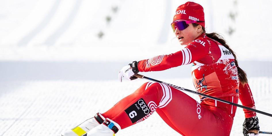 Российская лыжница выиграла серебряную медаль на этапе Кубка мира