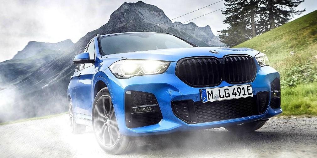 BMW X2 научился ездить на бензине и электричестве