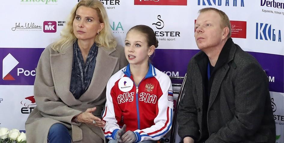 Фигуристка Трусова заявила пять четверных прыжков на чемпионате Европы