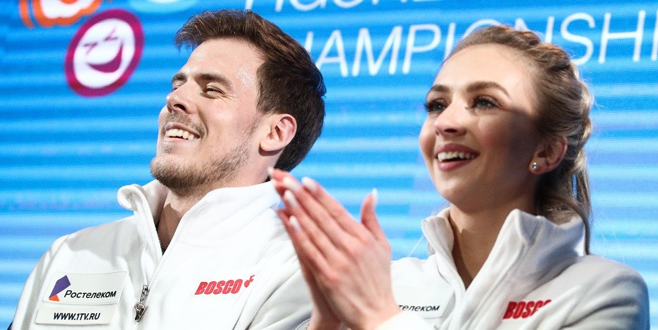 Российские фигуристы выиграли третье золото на чемпионате Европы