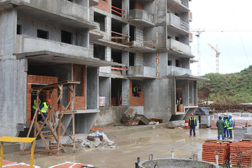 """В ЖК """"Царицыно"""" задействовали 850 строителей"""