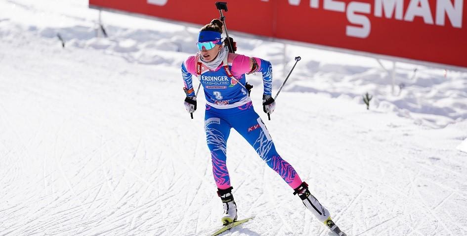 Российские биатлонистки показали худший в сезоне результат в эстафете