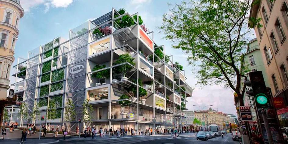 IKEA построит торговый центр нового типа в Вене