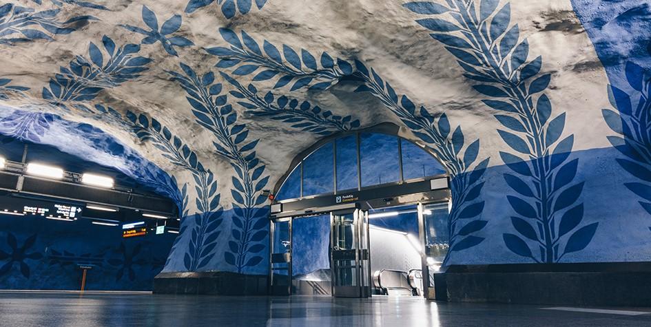7 самых удивительных станций метро в мире