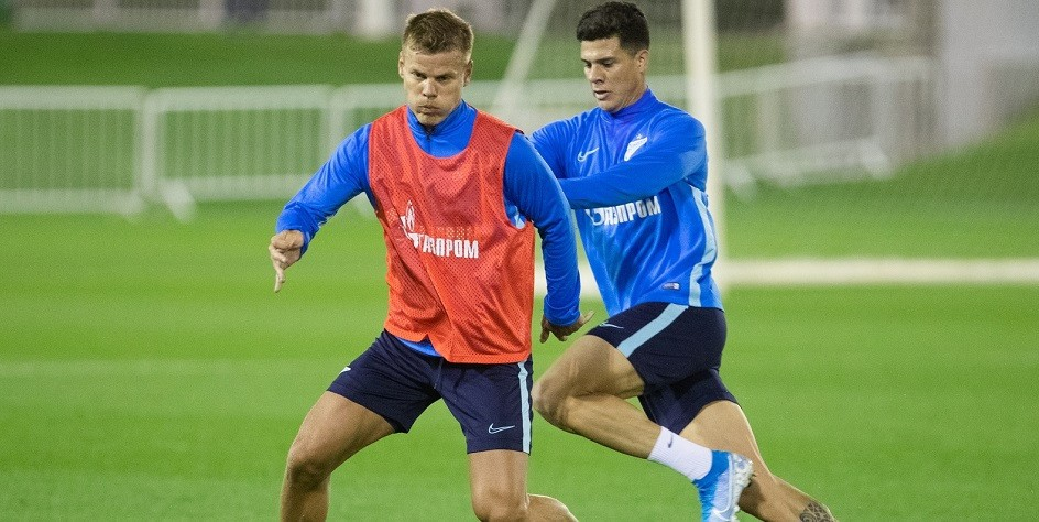 Кокорин забил гол за «Зенит» в товарищеском матче