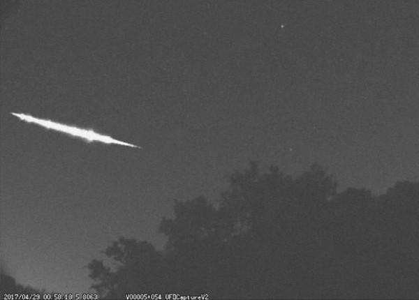 Астрономы вычислили японский болидный бомбардировщик