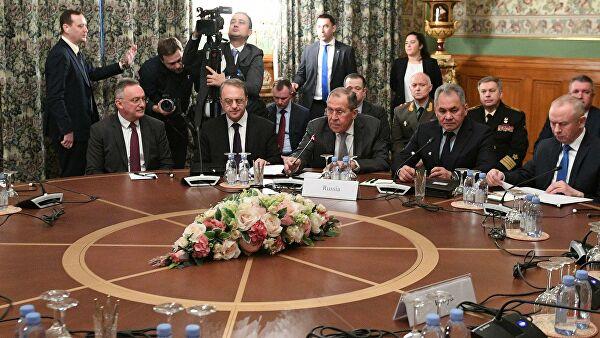 В Москве проходят российско-турецкие переговоры по Ливии