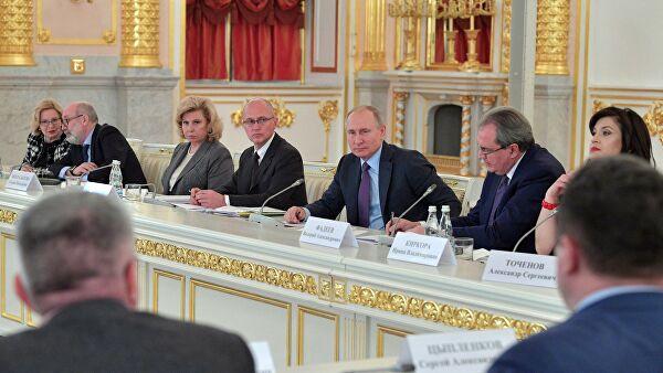 Володин направил в комитеты ГД поручения Путина после заседания СПЧ