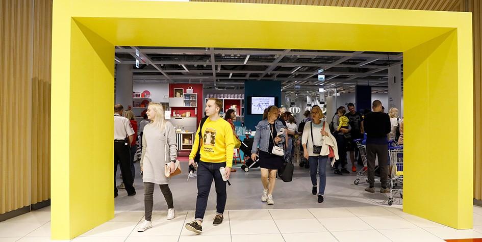 IKEA откроет третий магазин городского формата в Москве