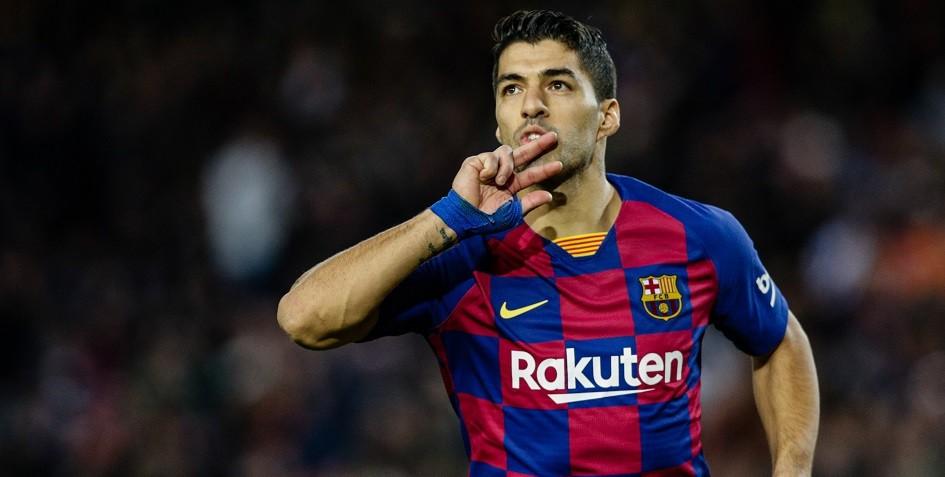 Футболист «Барселоны» Луис Суарес выбыл на четыре месяца из-за травмы