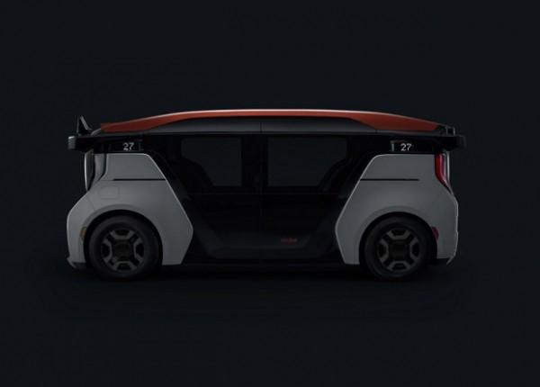 Cruise представила полностью беспилотный микроавтобус