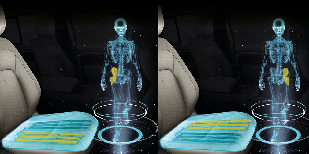 Jaguar Land Rover придумал кресло с имитацией ходьбы во время поездки