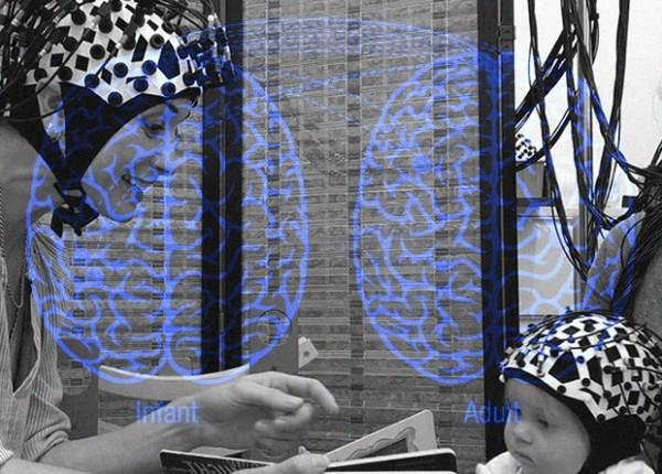 Активность мозга младенцев и родителей синхронизировалась во время игры