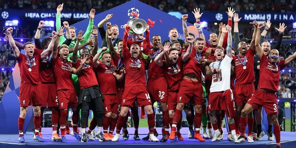 В команду года УЕФА вошли пять футболистов «Ливерпуля»