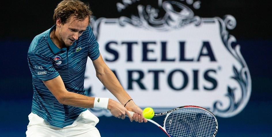 Теннисист Медведев объяснил удар по судейской вышке в матче ATP Cup