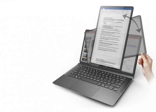 Тайваньцы сделали ноутбук с поворотным экраном