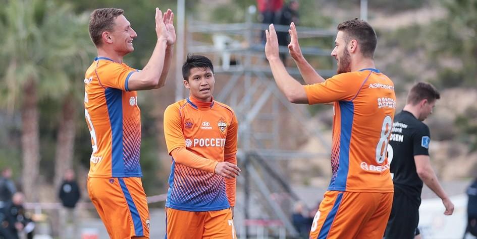 ЦСКА победил «Норшелланн» в товарищеском матче