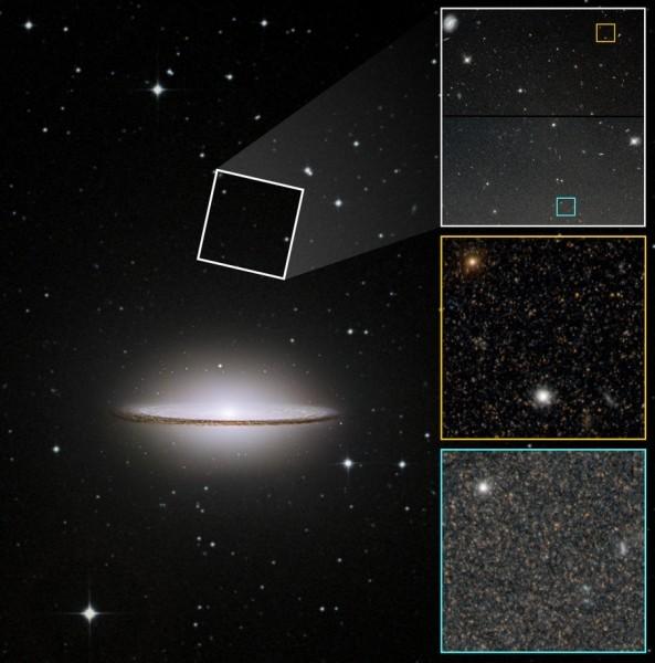 Галактику Сомбреро уличили в слиянии с крупной галактикой в прошлом