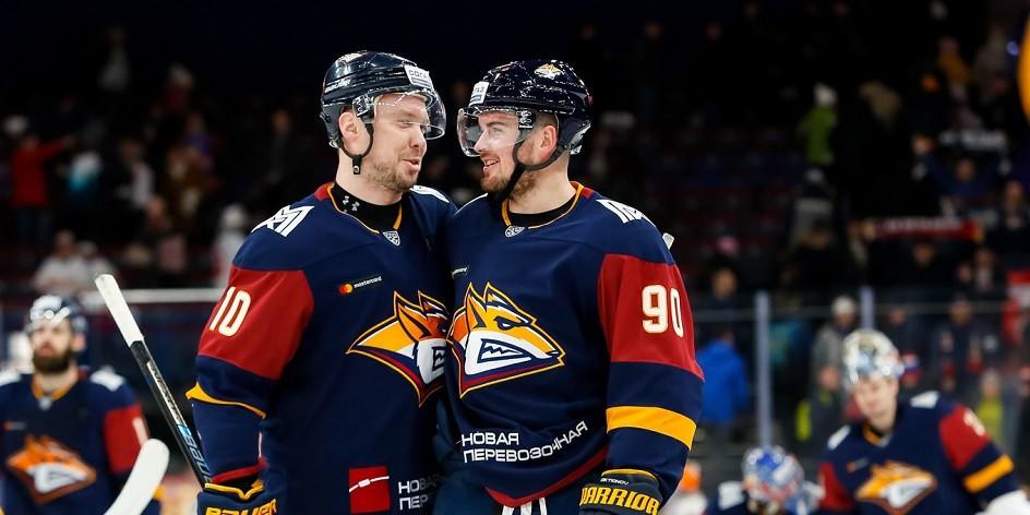 Магнитогорский «Металлург» гарантировал себе место в плей-офф КХЛ