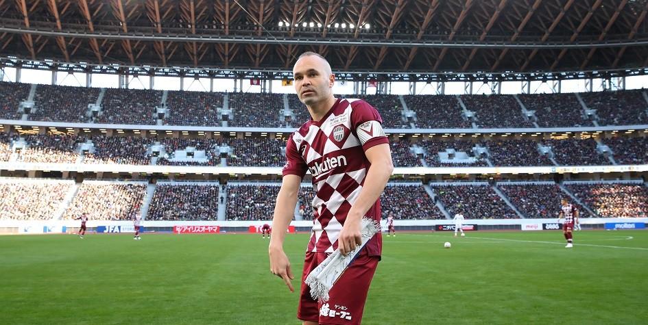 Бывший капитан «Барселоны» Иньеста выиграл 37-й трофей в карьере