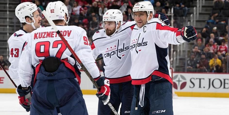НХЛ признала Александра Овечкина лучшим игроком января