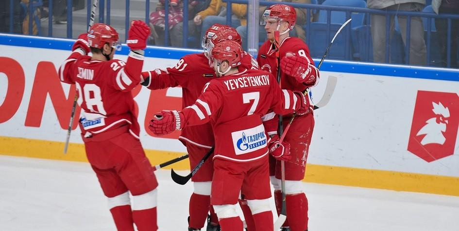 «Витязь» третий раз в истории вышел в плей-офф КХЛ