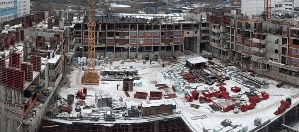 Строительство ЖК «Царицыно» наращивает темпы