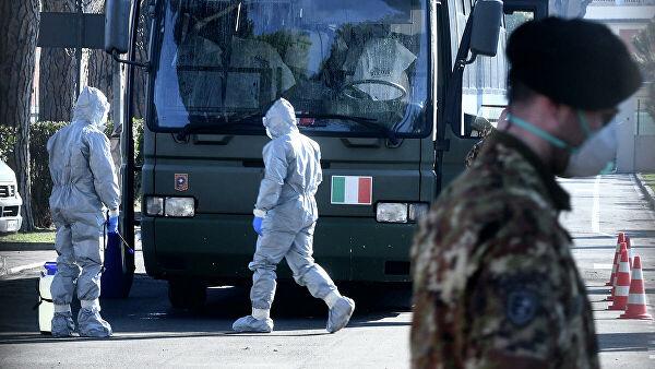 Россия отправит в Италию военных вирусологов для борьбы с COVID-19