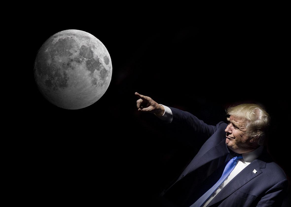 «Роскосмос» уличил Трампа в попытке захвата других планет