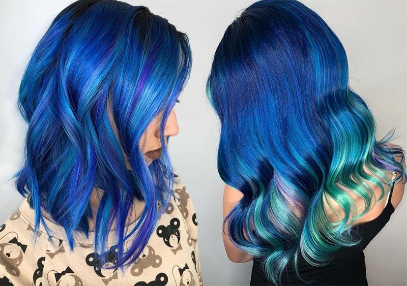 Почему синий - это лучший цвет для смены имиджа на карантине