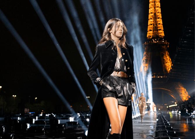 Saint Laurent покажет новую коллекцию самостоятельно, не участвуя в Неделе Моды в Париже