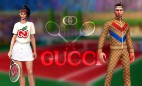 Gucci объявило о сотрудничестве с мобильной игрой Tennis Clash