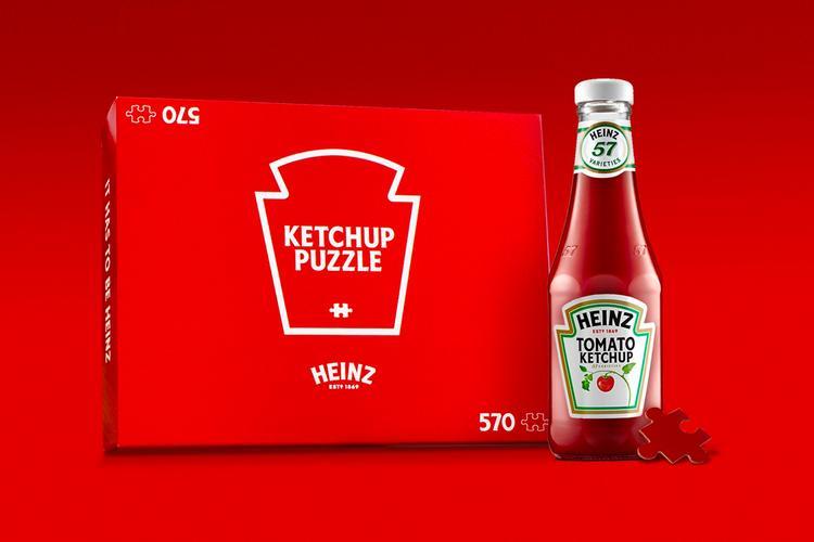 Heinz Ketchup Red Puzzle теперь можно купить онлайн