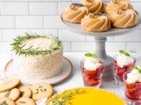 5 способов украшения десертов травами