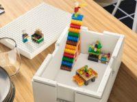 Коллекция BYGGLEK от IKEA и LEGO превращает ящики для хранения в площадку для творчества
